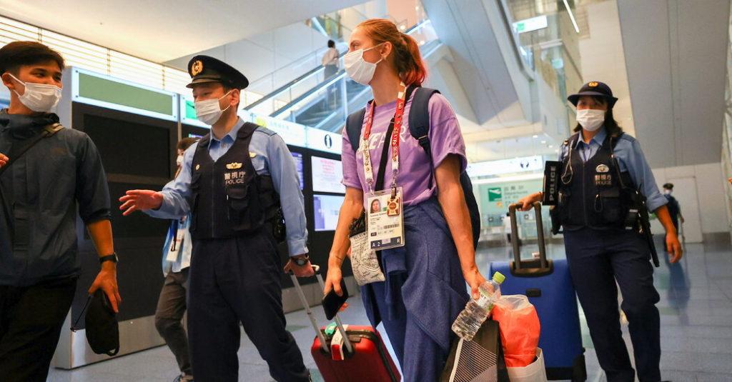 Weißrussischer Olympia-Sprinter sucht Zuflucht in Japan aus Angst vor Gefängnis zu Hause