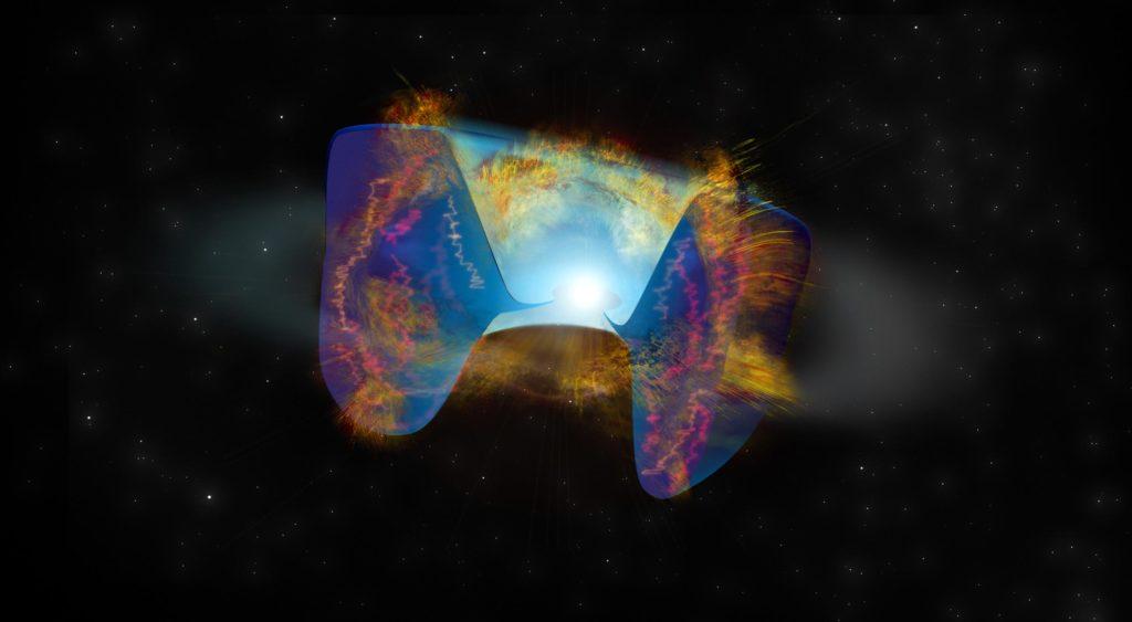 """Stellar Collision löst Supernova-Explosion aus - """"Dies ist das erste Mal, dass wir ein solches Ereignis sehen"""""""