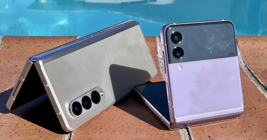 Galaxy Z Fold 3, Z Flip 3 Wassertest: Wie weit können sie gehen?