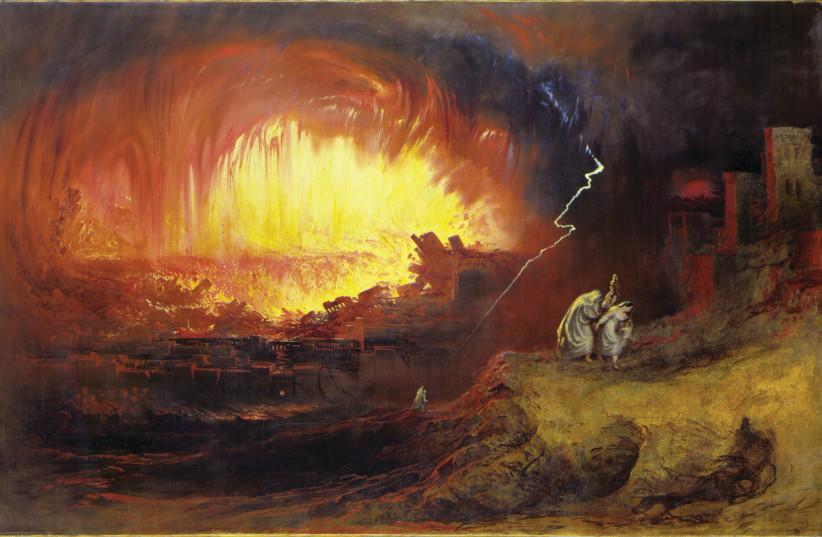 Hat die Zerstörung dieser mittelbronzezeitlichen Stadt Sodom inspiriert?