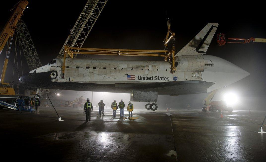 Nach den Shuttle-Katastrophen von 1998 und 2003 brachte