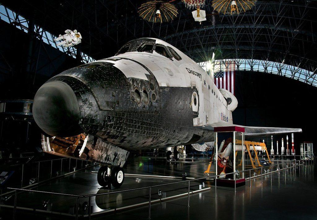 Nach den Shuttle-Katastrophen von 1998 und 2003 brachte 'Discovery' Amerika zurück ins All    Im Smithsonian