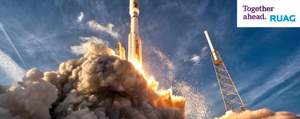 RUAG Space feiert 30 Jahre Weltraumwärmeschutz