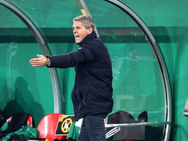 Rapid Wien-Trainer Dietmar Kuhbauer im Bild am 5. November 2020
