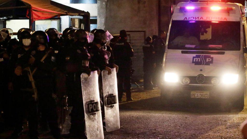 Mehr als 100 Tote bei blutigem ecuadorianischem Gefängnismassaker