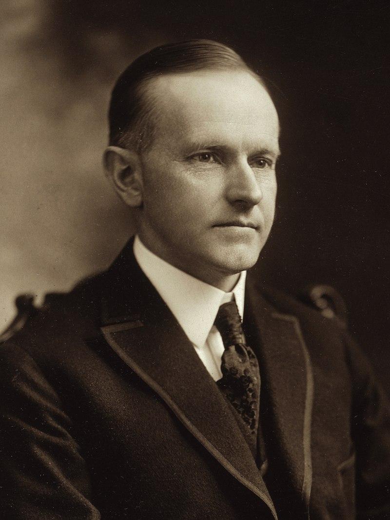 Calvin Coolidge sollte auf dem Liberty Walk sein