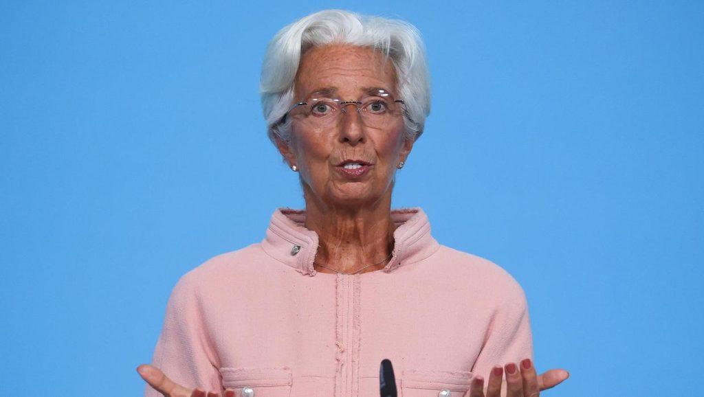 Christine Lagarde warnt davor, auf Schocks überzureagieren