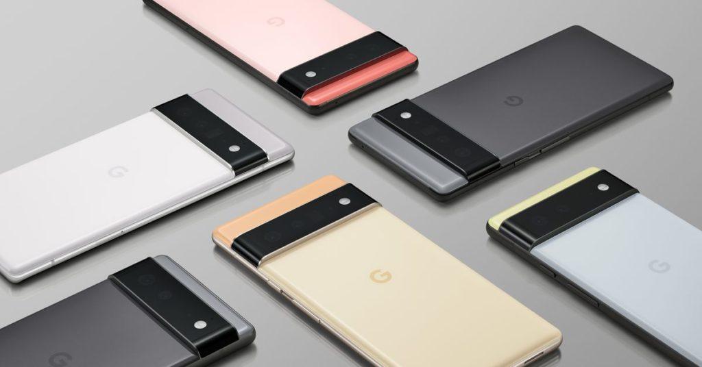 Das Pixel 6 ist möglicherweise durchgesickert und ausnahmsweise nicht in Googles Händen