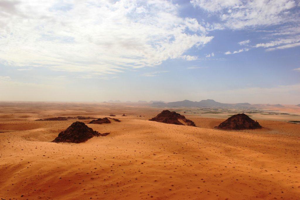Das einst grüne prähistorische Arabien zog die ersten Menschen Afrikas an
