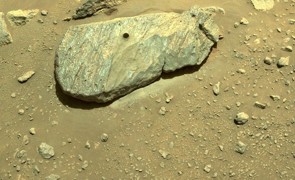 """Der Mars-Rover der NASA hat eine """"phänomenale Leistung"""""""
