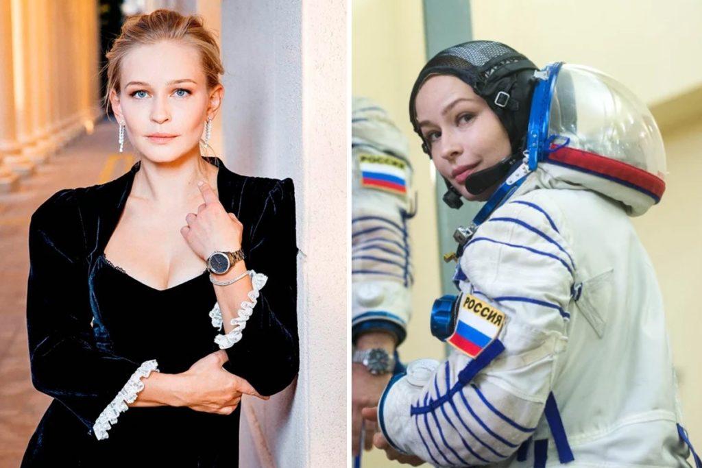 Die russische Superstar-Schauspielerin fliegt nächste Woche zur ISS, um die Weltpremiere des SPACE-Films zu drehen