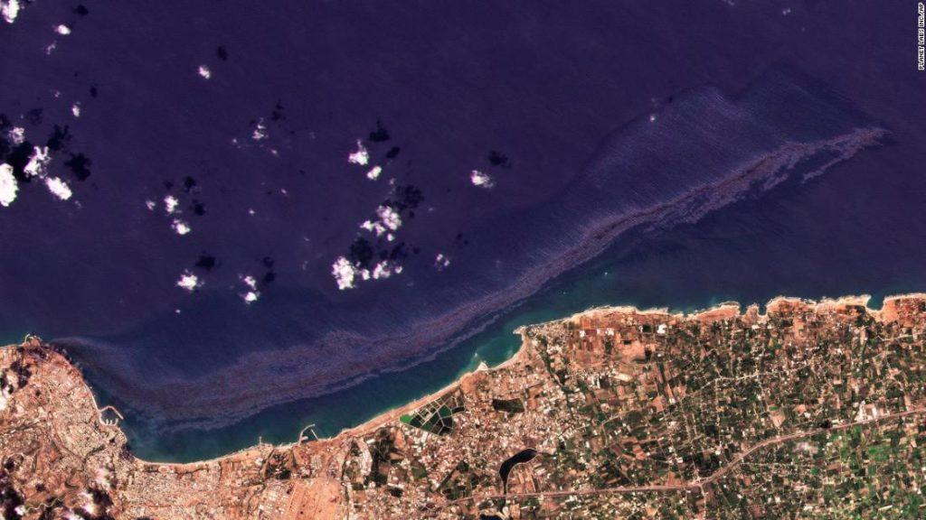 Die syrische Ölpest breitet sich auf das Mittelmeer aus