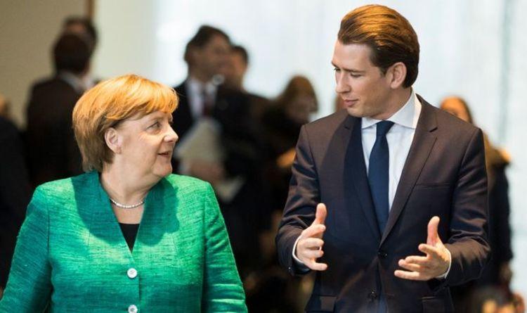 """EU befürchtet Zusammenbruch, da der Österreicher Kurz Angst vor einem """"massiven Deutschlandproblem"""" ohne Merkel hat    Welt    Neu"""