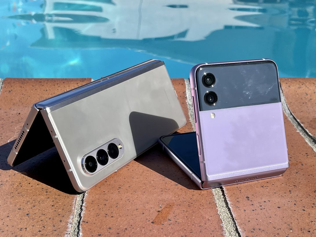 Wasserdichtes Galaxy Z Fold 3 und Z Flip 3
