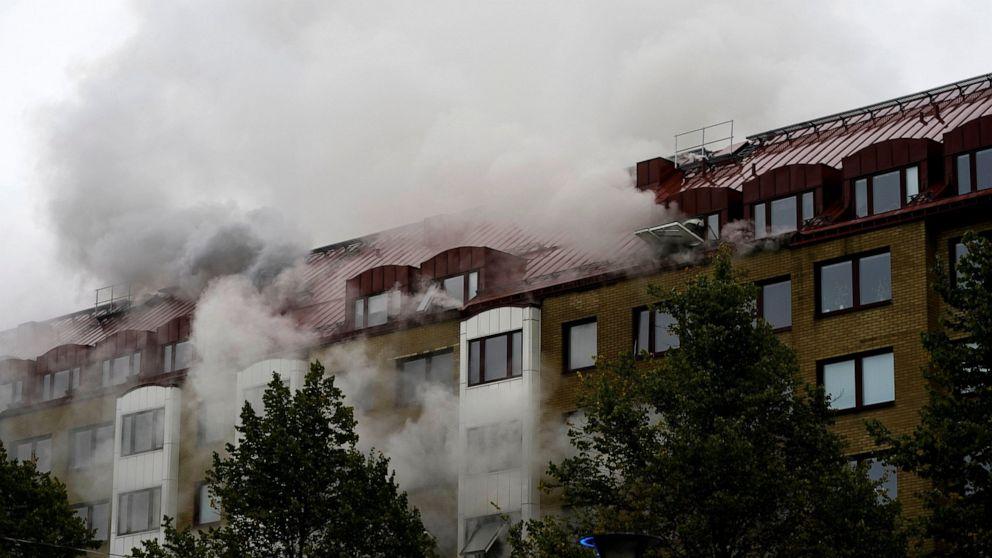 Gebäudeexplosion in Schweden verletzt bis zu 20