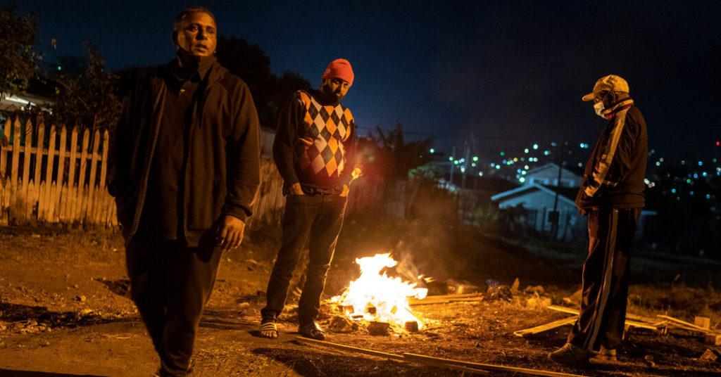 Indianer gegen Schwarze: Morde an Bürgerwehren erschüttern eine südafrikanische Stadt