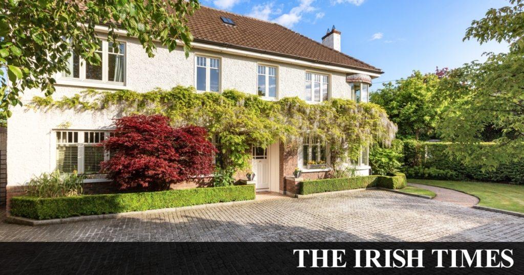 Modedesign-Stil im Dublin 4 House für 2,25 Millionen Euro