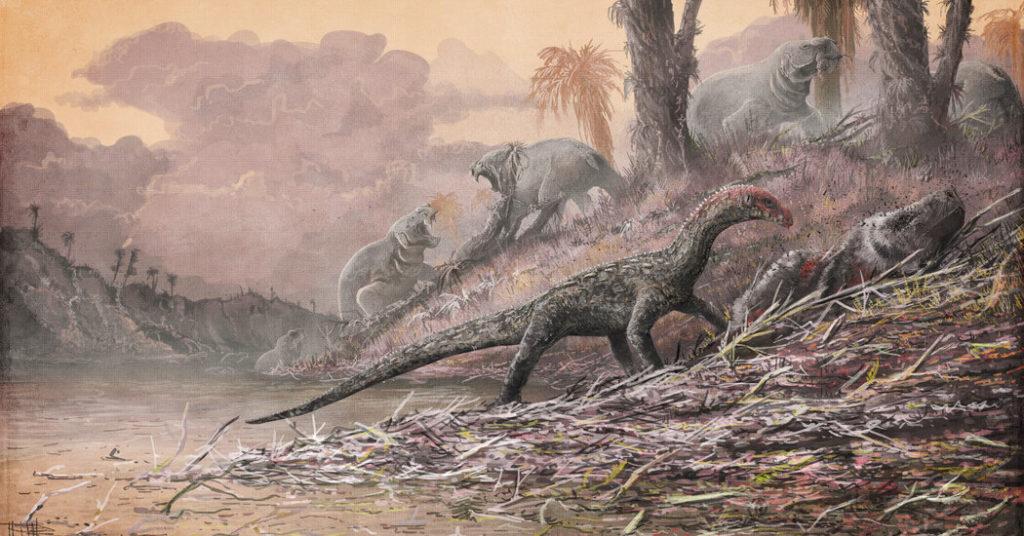 Vulkanausbrüche halfen Dinosauriern, den Planeten Erde zu regieren