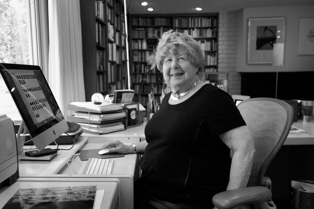 Feier zum 90. Geburtstag von Marjorie Perloff