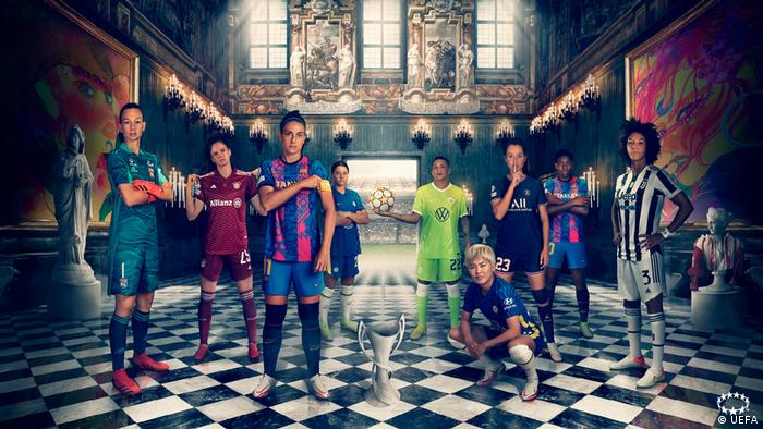 Ein künstlerisches Projekt mit Fußballerinnen