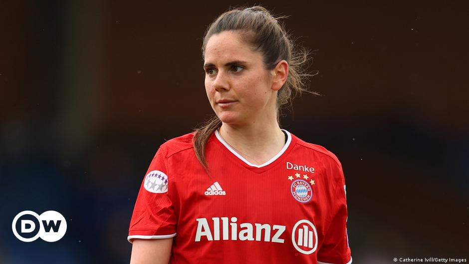 Sarah Zadrazil vom FC Bayern München will die nächste Generation inspirieren |  Sportler |  Deutscher Fußball und wichtige internationale Sportnachrichten |  DW