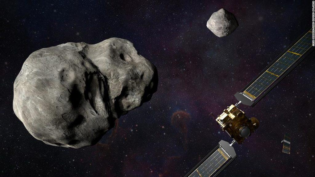 Die DART-Mission der NASA wird absichtlich auf einen Asteroidenmond stürzen