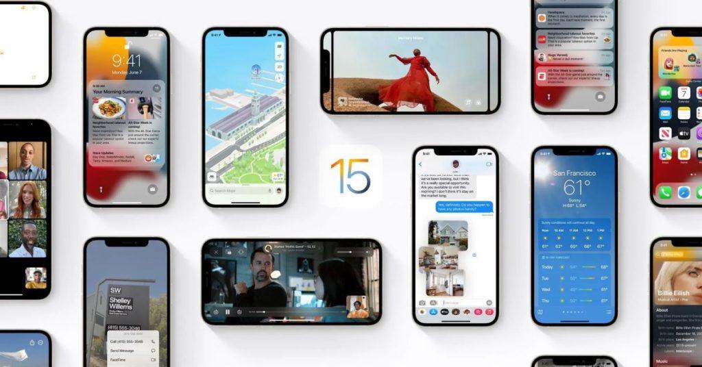 Die Einführung von iOS 15 bleibt im Vergleich zu iOS 14 im letzten Jahr langsamer