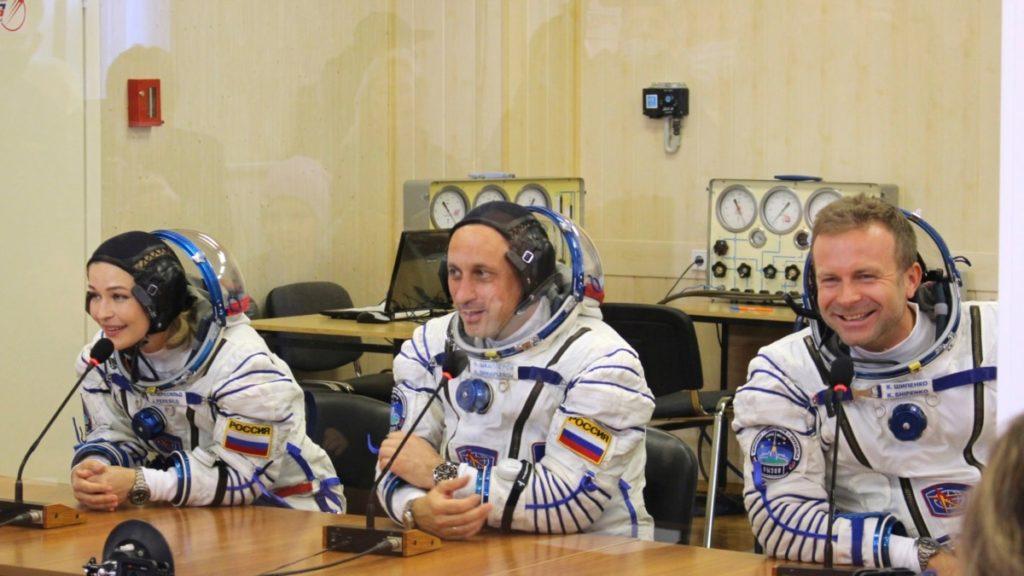 Russisches Filmteam dreht ersten Weltraumfilm