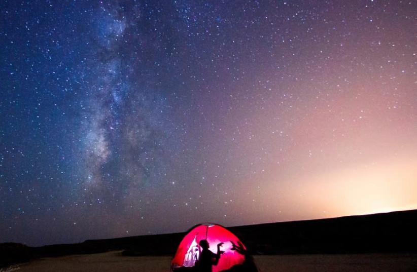"""""""Astronauten"""" simulieren die Marsumgebung in Israels Mitzpe Ramon"""
