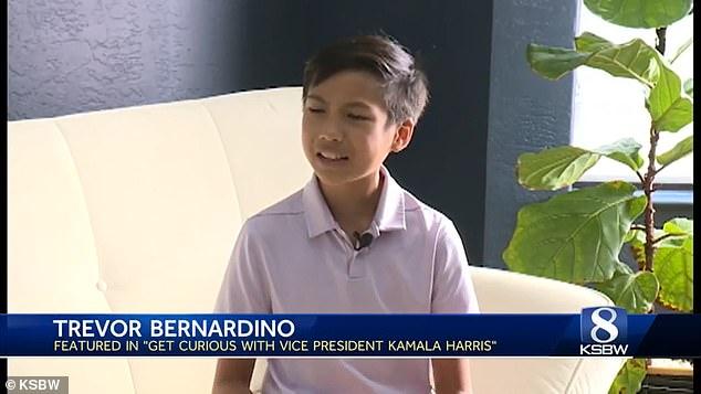 Der in Monterey lebende Trevor Bernardino, 13, erzählte KSBW, wie er die Rolle ausprobieren musste