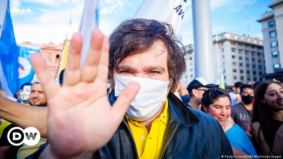 Argentinien: Wie der Anarcho-Kapitalist Javier Milei die Politik aufmischt    Nachrichten    DW