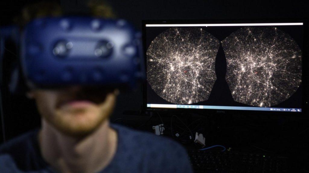 """Neue Universumskarte ermöglicht Benutzern """"Reisen durch Raum und Zeit"""""""