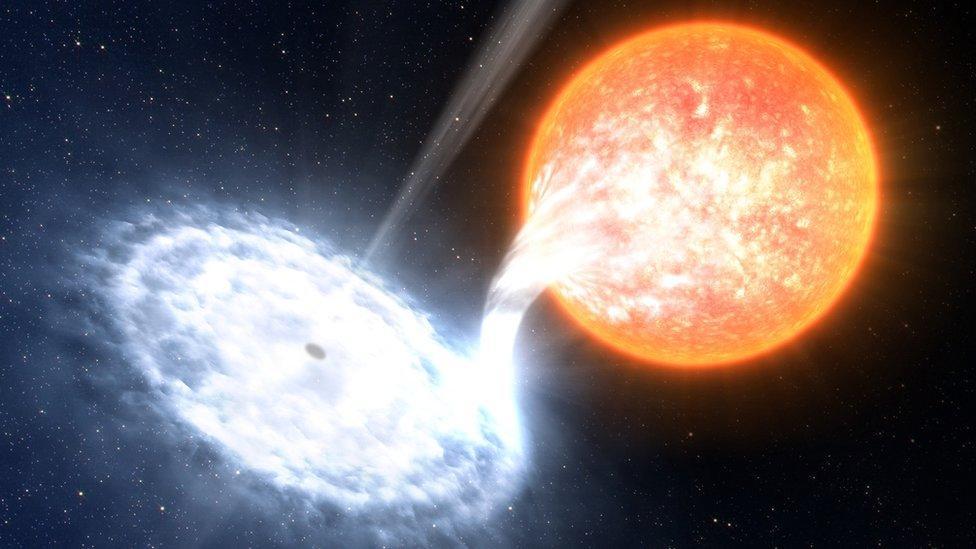 Anzeichen des ersten Planeten außerhalb unserer Galaxie
