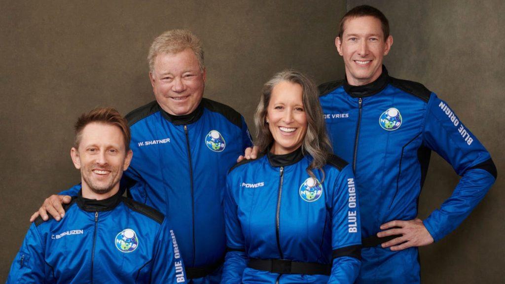 Beobachten Sie den Weltraumflug von William Shatner live mit dem Start der Blue Origin-Rakete
