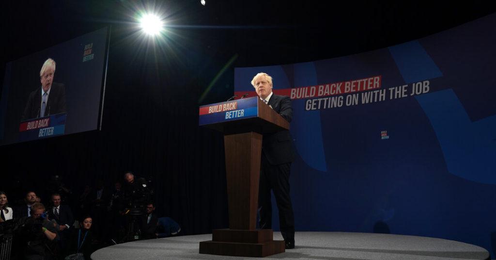 Boris Johnson verspricht eine Transformation der Wirtschaft für Großbritannien