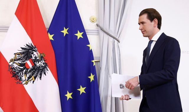 """Bundeskanzler Sebastian Kurz tritt zurück, um Korruptionsvorwürfe """"zu widerlegen und zu widerlegen"""""""