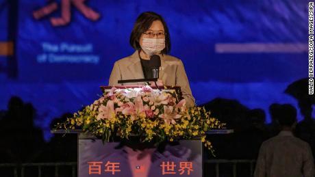 Taiwan strebt keine militärische Konfrontation an, wird aber die Freiheit verteidigen, sagt Präsident