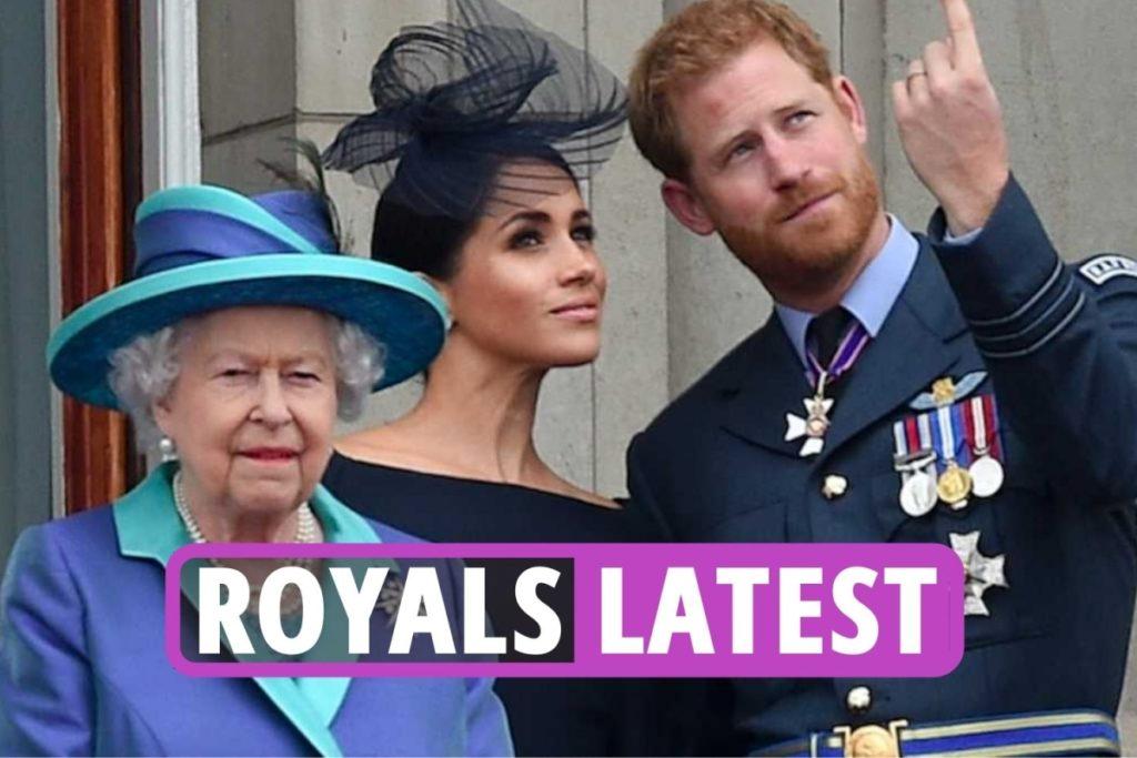 """Das Neueste aus der königlichen Familie – Die Königin wird Lilibet möglicherweise NIEMALS treffen, da Prinz Harry und Meghan """"Großbritannien brüskieren, um sie in den USA zu taufen"""""""