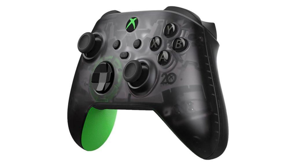 Der Xbox-Controller zum 20-jährigen Jubiläum von Microsoft wurde vorzeitig enthüllt