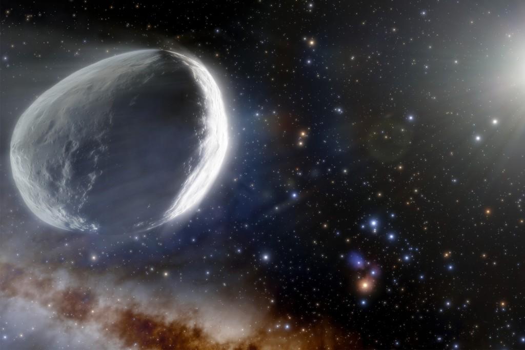 Ein Komet, so groß wie ein winziger Planet, steuert auf das Sonnensystem zu