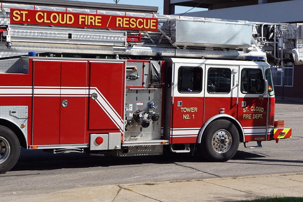 Feuerwehren erinnern Sie daran, die Geräusche des Brandschutzes zu kennen