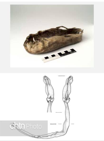 Im österreichischen Salzbergwerk gefundene Relikte werden im Iran ausgestellt