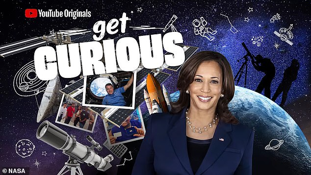 Ein NASA-Video mit Vizepräsidentin Kamala Harris enthielt Kinderschauspieler
