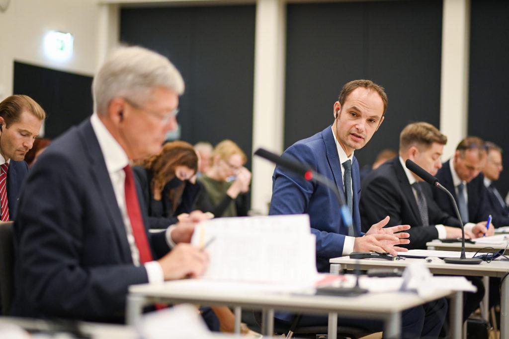 Minister Logar bei der 6. Sitzung des Gemeinsamen Ausschusses Slowenien-Kärnten für verstärkte Zusammenarbeit
