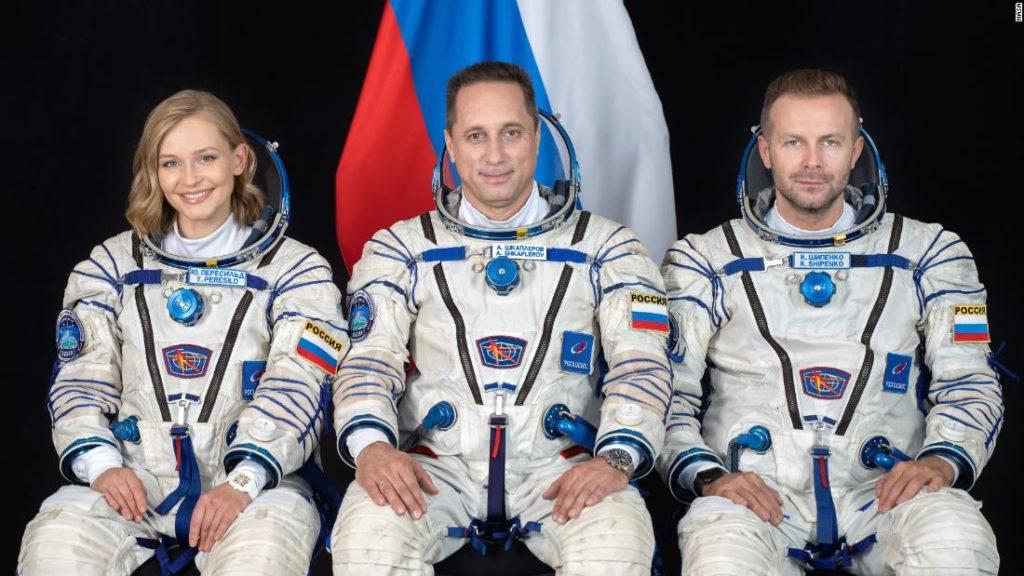 Russische Crew stellt bahnbrechenden Weltraumfilm fertig und ist bereit, zur Erde zurückzukehren