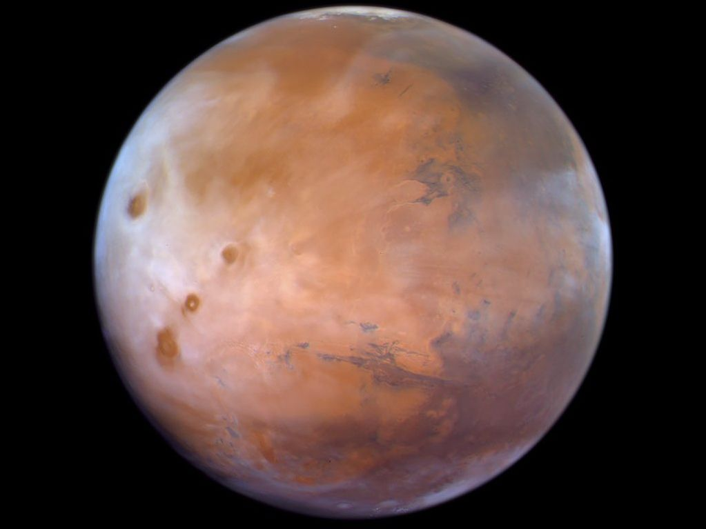 Scheich Mohammed bin Rashid teilt neues Bild vom Mars, das von Hope Probe aufgenommen wurde