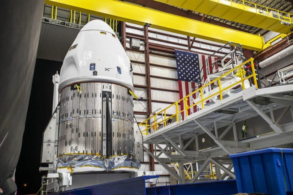 SpaceX ist bereit, Astronauten an Halloween zur Raumstation zu bringen
