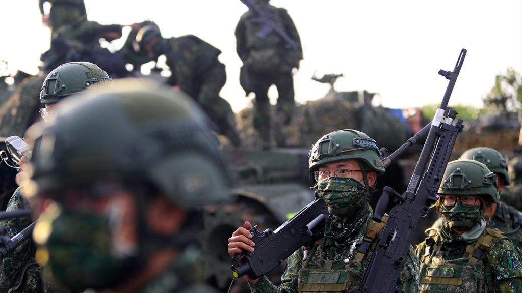 Taiwan wird keinen Krieg mit China beginnen, sagt ein hochrangiger Militärbeamter