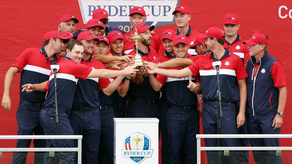USA gewinnt 43. Ryder Cup mit European Golf - Sports Mix