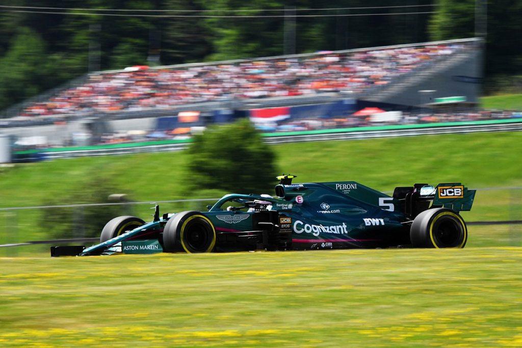 Vettel hat dem österreichischen F1 GP drei Startplatzstrafen zugefügt